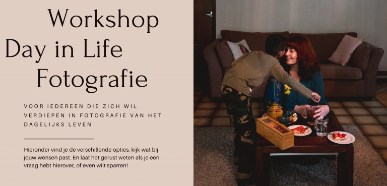 fotografieworkshop Arnhem day in life fotografie documentaire familiefotografie